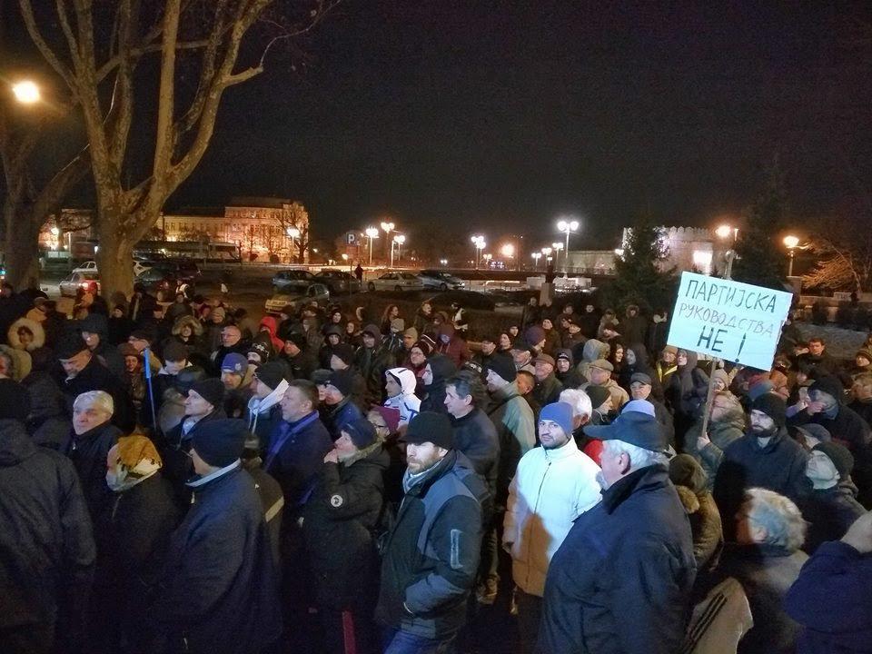 Beograđani se pridružuju protestu stanara u Nišu