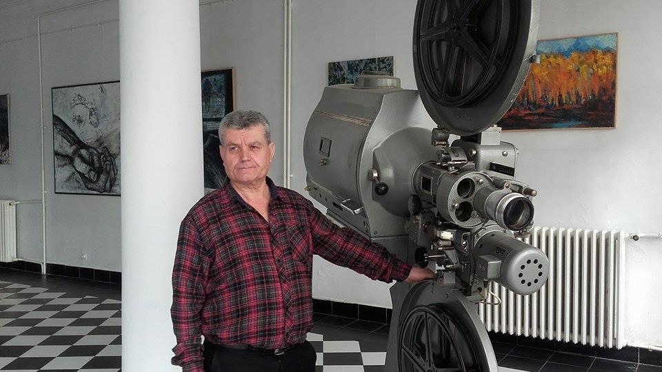 Zvonko Cvetković: Kabina kinoooperatera drugi dom