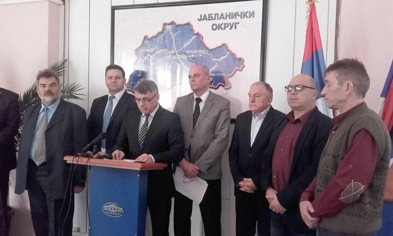 Popisi objekata završeni u Leskovcu, Medveđi, Lebanu i Bojniku