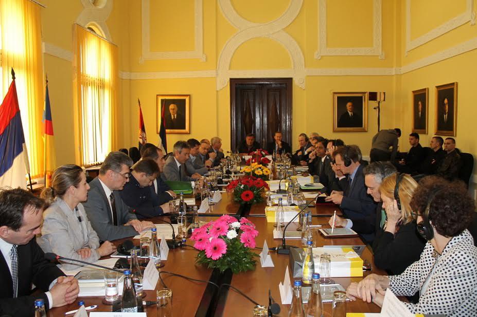 Predstavnici Svetske banke o Koridoru 10 sa gradonačelnicima Leskovca i Vranja