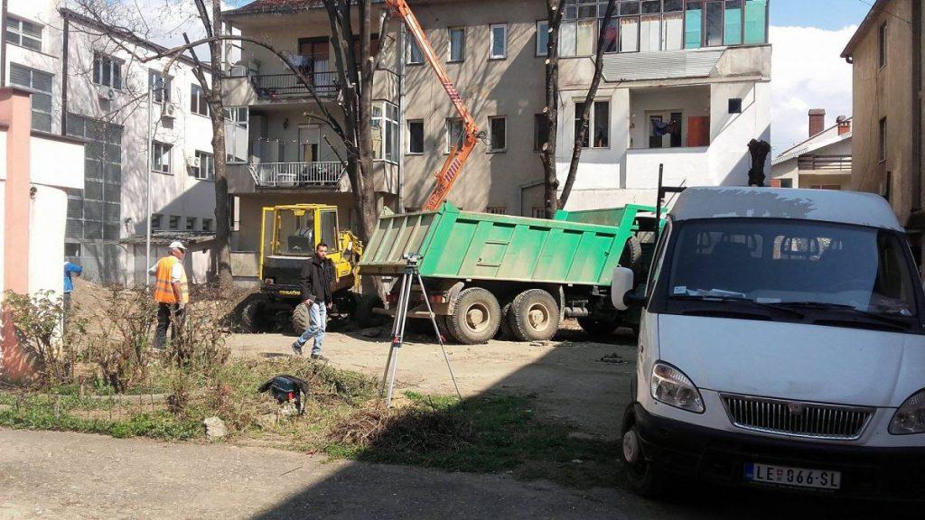 "Gradi se parking prostor iza ""San Marka"""