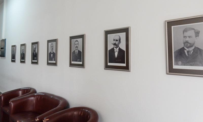 GRADSKA KUĆA Nepotpuna galerija fotografija bivših vođa Leskovca