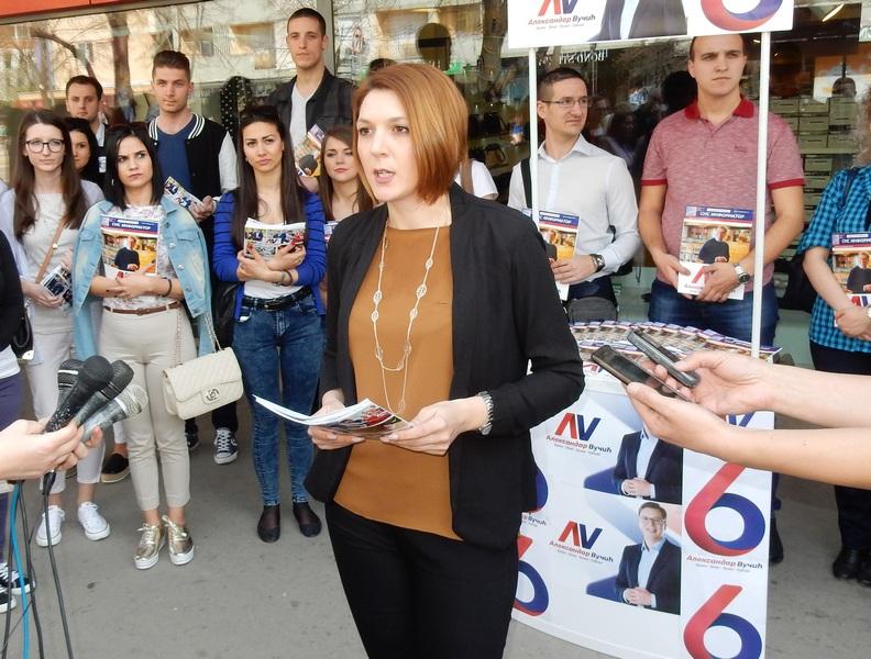 Tijana Stojiljković predstavila novi SNS informator