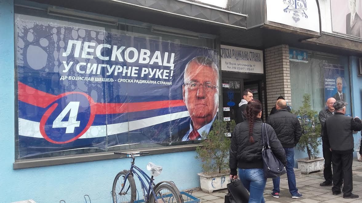 SRS: Šešelj protivnički kandidat svima