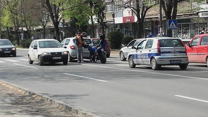 Sudar pred policijom