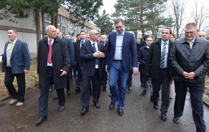 Vučić najavio zapošljavanje 300 radnika u Lebanu za 5 godina