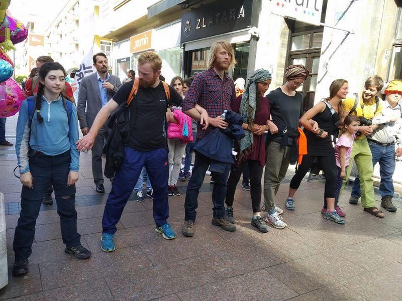 Učesnici Civilnog marša za Alep stigli u Niš