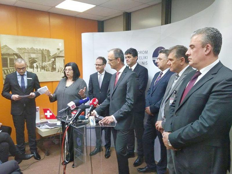 Ambasador Švajcarske: Linija Niš-Cirih nova šansa za jug Srbije