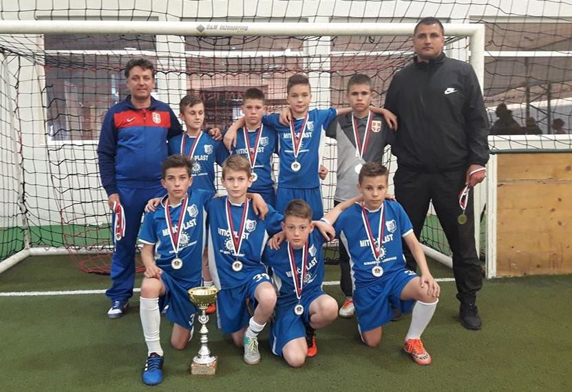 Dečaci iz FK Sloge – ponos Leskovca