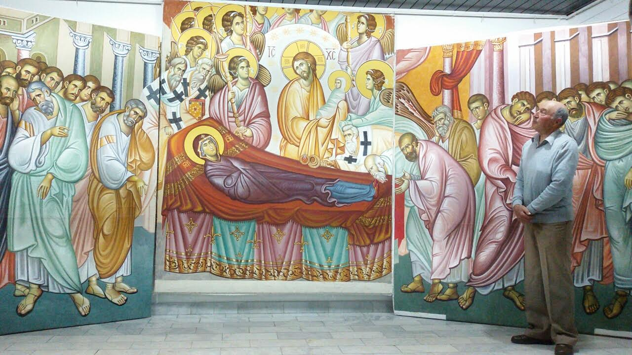 Kopista Colić 3 decenije proveo u mraku, sada poklanja kopije fresaka