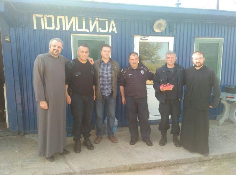 Arsić obišao policajce na administrativnoj liniji prema Kosovu