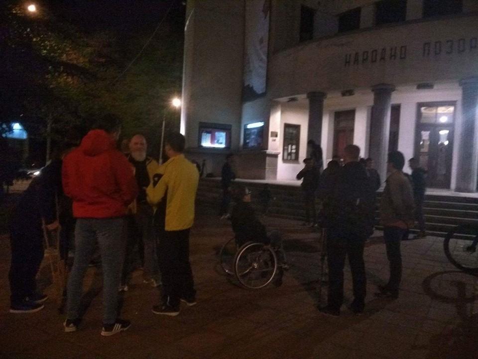 Više stotina Nišlija na protestu zbog rezultata izbora