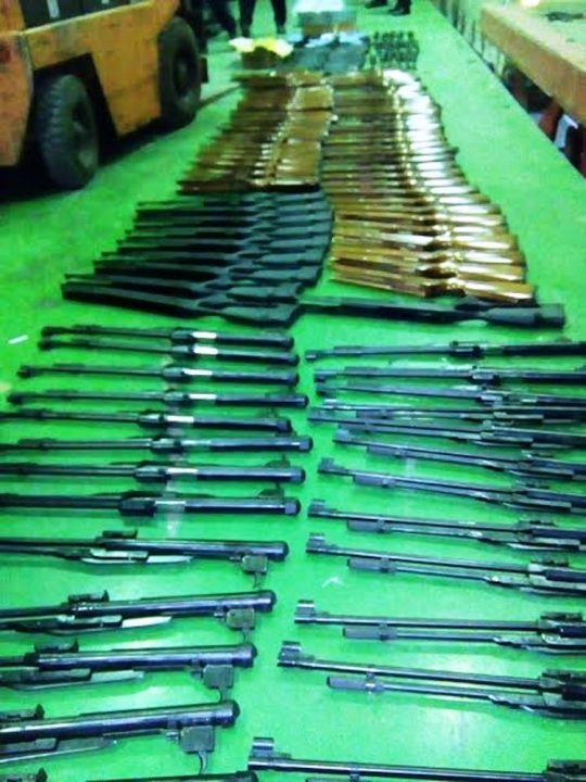 Švercovao arsenal oružja za Crnu Goru