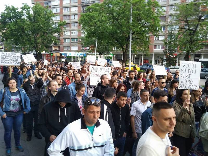 """Protest protiv diktature"" deveti put u Nišu"