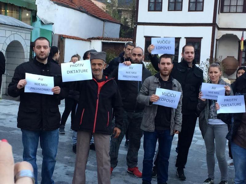 Protest protiv Vučića i u Vranju