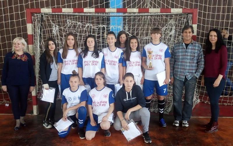 Pobednici školskog takmičenja u malom fudbalu
