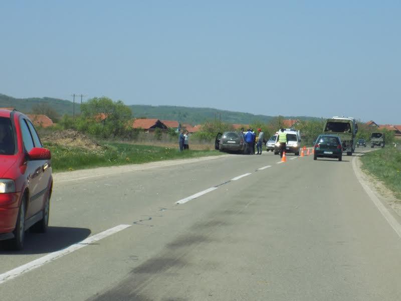 Udes na starom autoputu kod Leskovca
