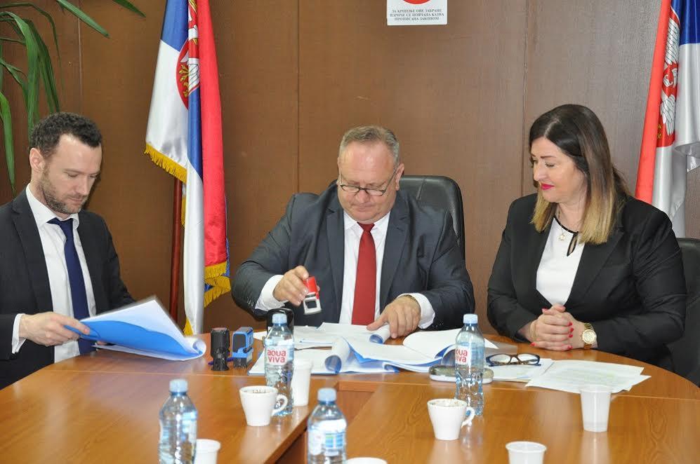 Tri miliona evra za postrojenje za prečišćavanje otpadnih voda u Leskovcu