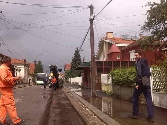 Počela najavljena rekonstrukcija nekoliko gradskih ulica
