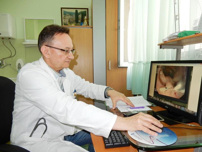 PODVIG Grgov bez operacije otklonio polip od 7 centimetara