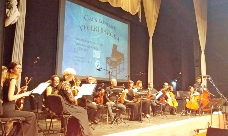 Amoroso na festivalu Večeri baroka u Tuzli
