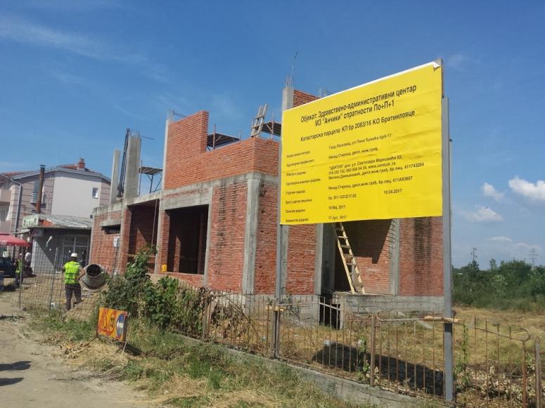 Nastavljena izgradnja ambulante i mesne zajednice u naselju Ančiki