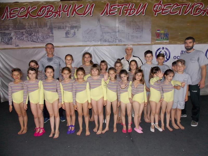 GK Kolut, gimnastička budućnost Leskovca
