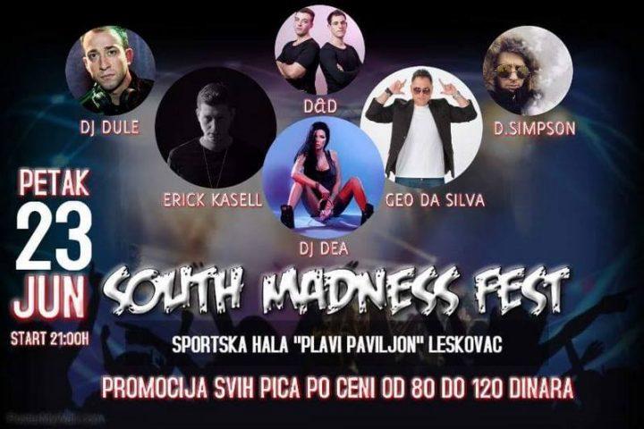 Festival haus muzike, najveća žurka u Leskovcu