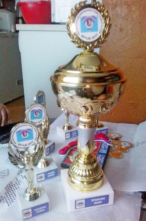 Veliki pehar Jugmedie za pobednice na turniru u Vučju