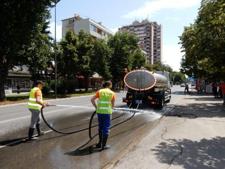 Komunalac će prati ulice i u međusmenama