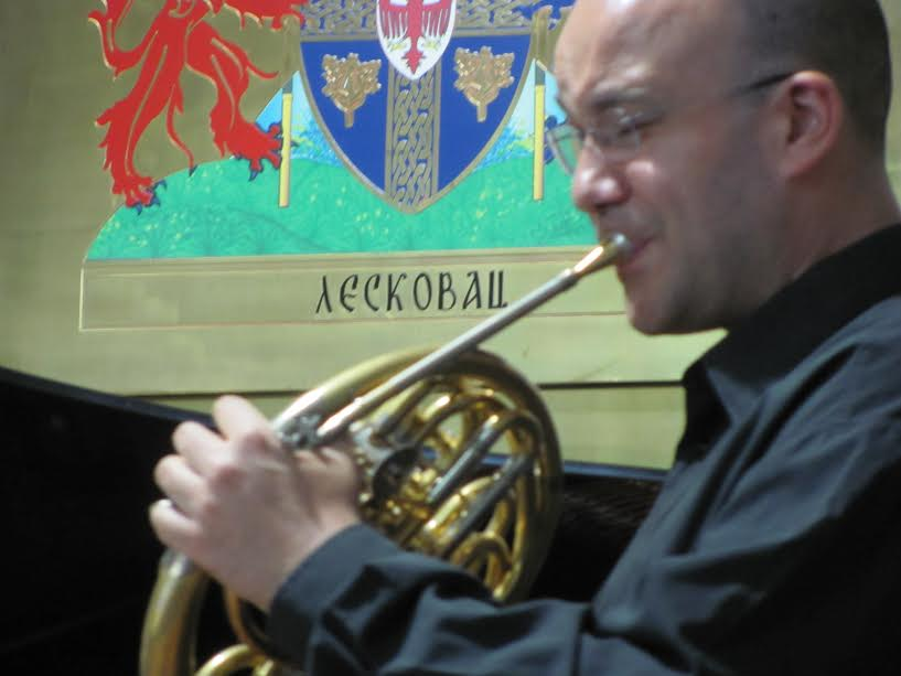 Solistički koncert na horni prvi put u Leskovcu