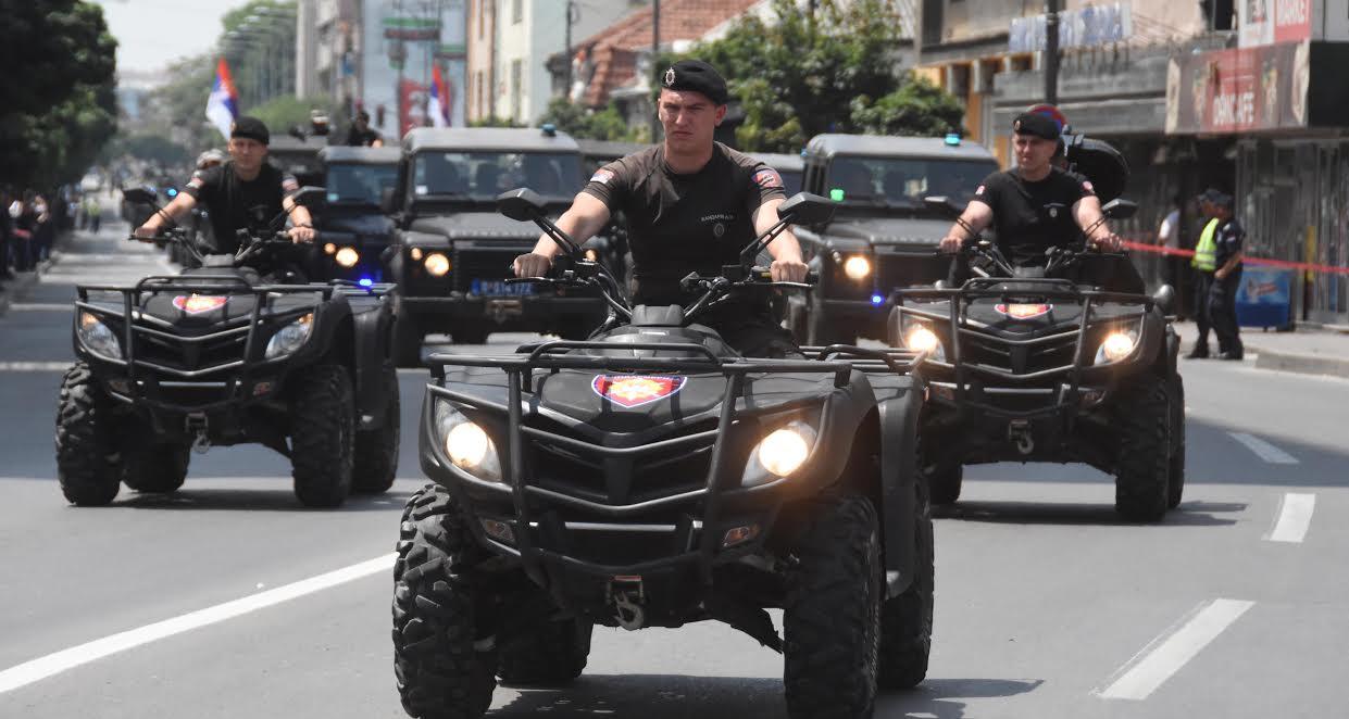 Počele pripreme za policijsku paradu