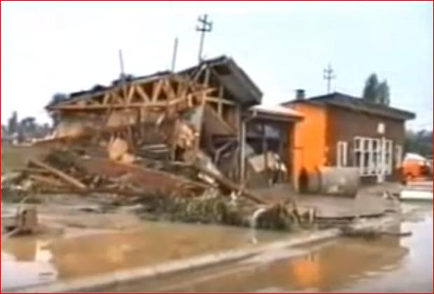 Na današnji dan pre 29 godina Vlasotince pogodio potop (VIDEO)