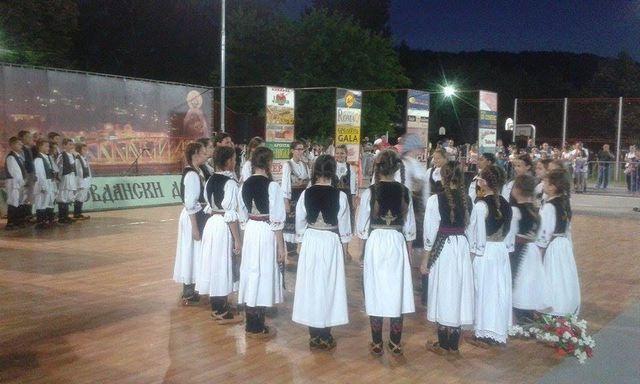 "Na ""Vidovdanskim danima"" nastup najmlađih folkloraša"