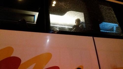 Kamenovan vranjski autobus pun putnika