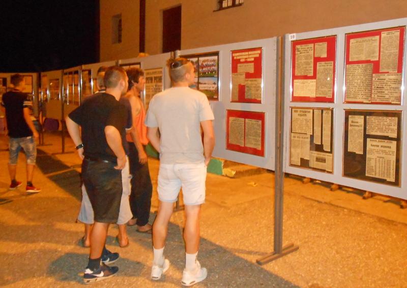 Izložba slika – Priča o 8 decenija fudbala u Brestovcu
