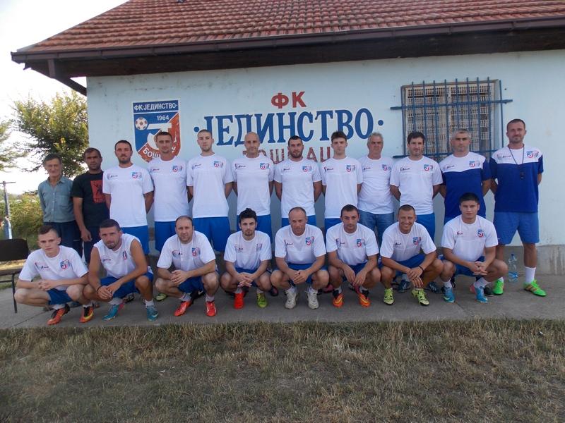 Fudbaleri Jedinstva na okupu, stiglo i pojačanje
