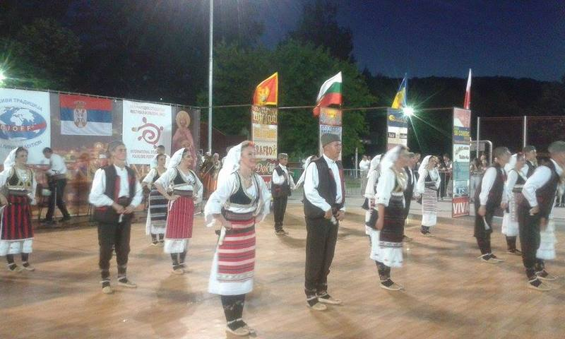 Publiku na tribinama oduševili folklorci iz Bugarske, Kipra i Kolumbije