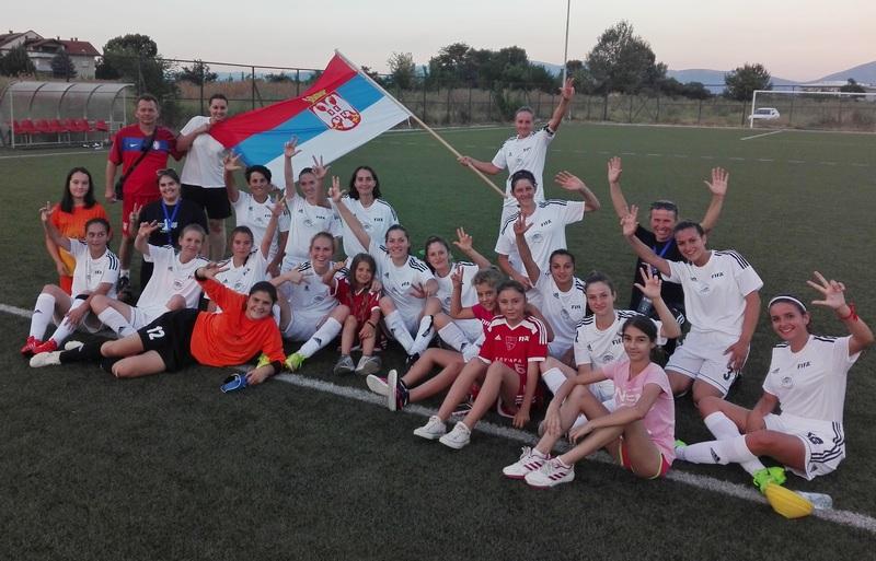 Fudbalerke Lavice-Dubočica dostojno predstavile Leskovac u Tetovu