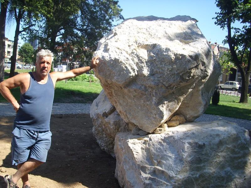 SAN STAR 63 GODINE Došao iz Amerike da napravi skulpturu konja vojvode Momčila