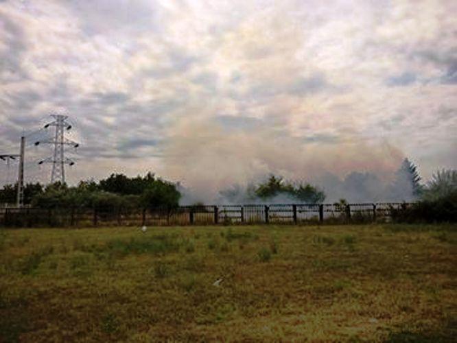 Požar kod Špitalja umalo zahvatio dalekovode, južni deo grada bio bez struje