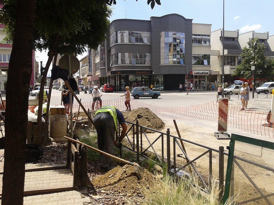 Ulica Vojvode Mišića dobija novu vodovodnu mrežu