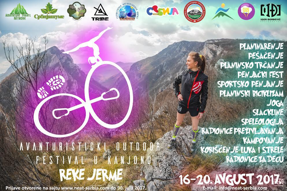 Prvi Outdoor festival u kanjonu reke Jerme
