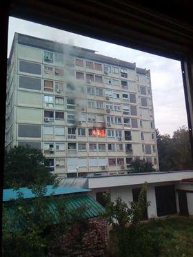 Vatrena eksplozija u stanu, MLADIĆ IZGUBIO ŽIVOT