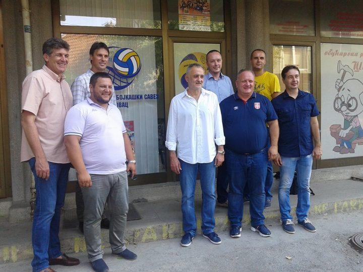 Odbojkaši dobili predstavništvo, svi očekuju pobedu Srbije večeras u Leskovcu