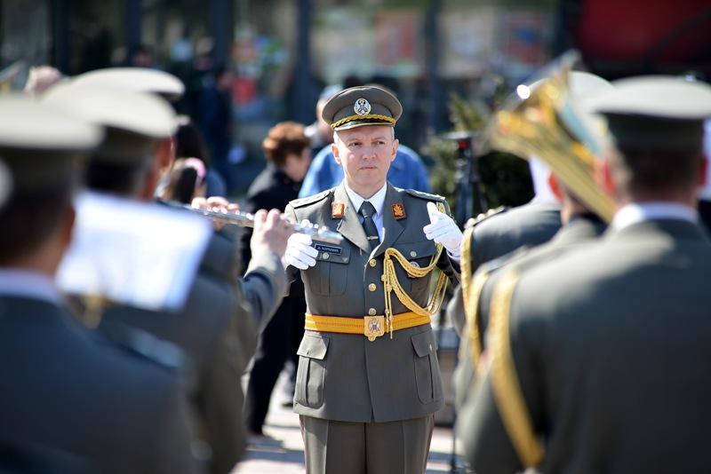 Koncert niškog Vojnog orkestra na Brestovačkom letu