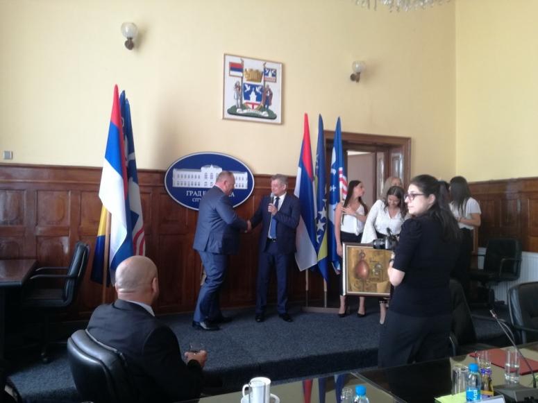 Delegacija Leskovca na slavi u Bijeljini