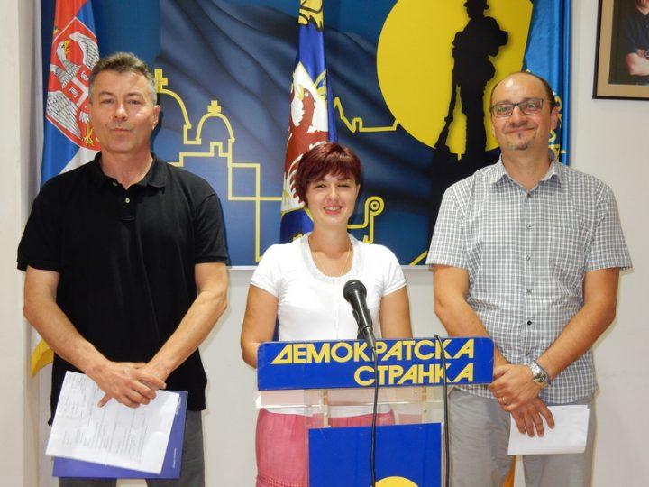 DS: Za vreme Vučića iz Leskovca se iselilo 10.000 ljudi