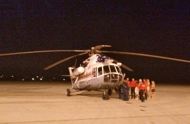 Ruski helikopter za gašenje požara sleteo na niški aerodrom