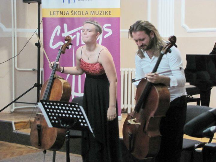 Violončelisti u pratnji Vladimira Miloševića obeležili drugo veče STRINGS -a